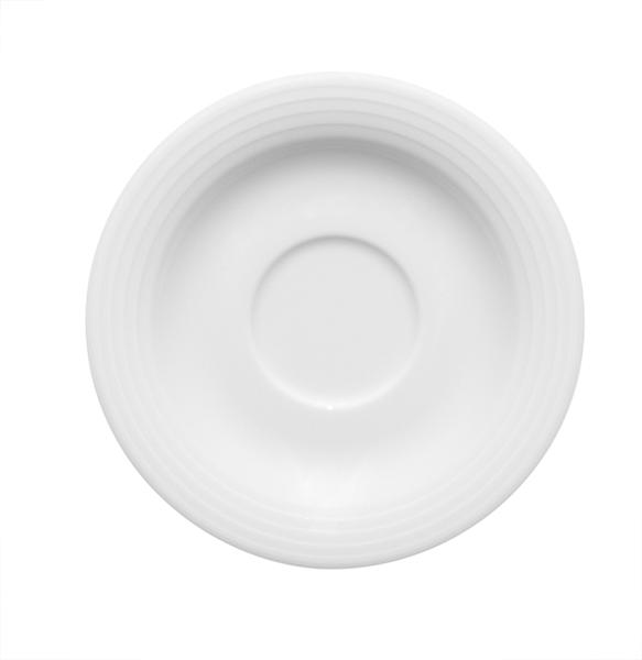 Bauscher, Dialog - Espresso-Untere rund, weiss, uni, 13,0 cm