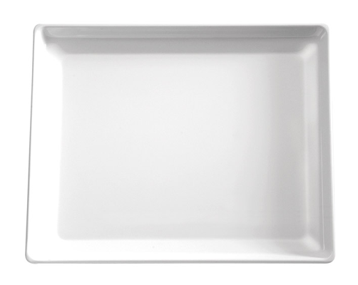 Tablett Float, 32,5 x 26,5 cm : GN 1/2, weiss, uni