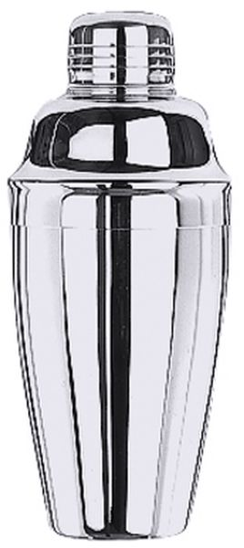 Cobbler Cocktail-Shaker 0,35 ltr., D: 7,5 cm, H: 18 cm