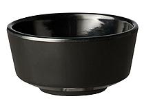 Schale Float, 5,5 cm, rund, schwarz, uni