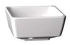 Schale Float, 9 x 9 cm, quadratisch, weiss, uni