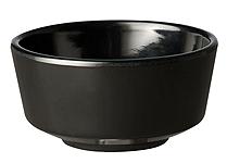 Schale Float, 15 cm, rund, schwarz, uni