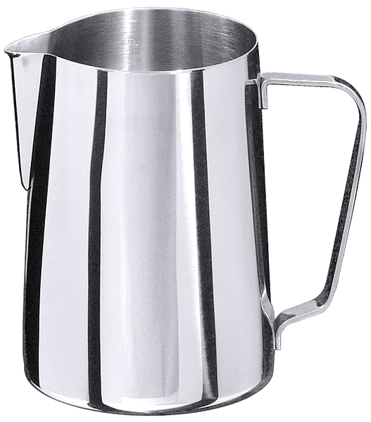 Milch-, Wasserkanne, EdSt. 18/10, hochglänzend, Inhalt: 1,00 ltr., Höhe: 12,5 cm