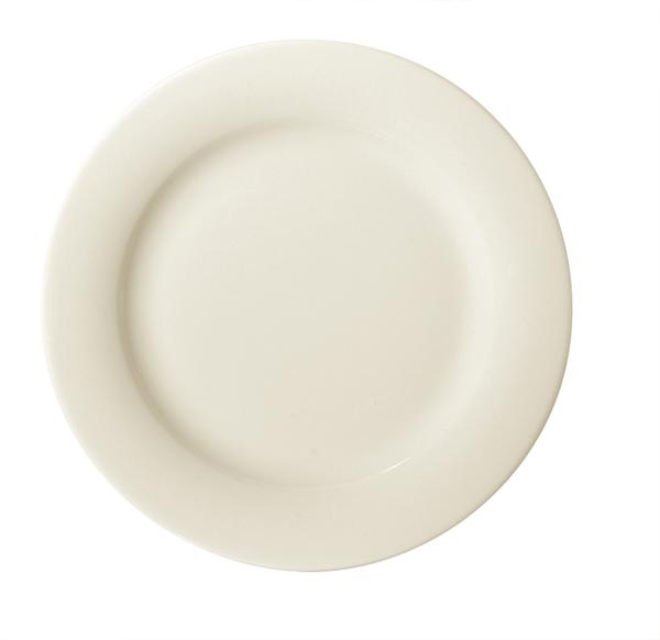 Bauscher, Raffinesse - Teller flach Fahne 28, creme, uni, 27,7 cm