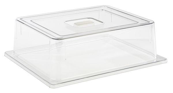 GN 1/2 Abdeckhaube 32,5 x 26,5 cm, H: 9,5 cm Polycarbonat
