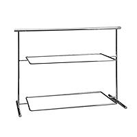 Serviergestell GN rechteckig, Metall, 63 x 27 x 44,5 cm, für 2 Tabletts Pure GN 1/1