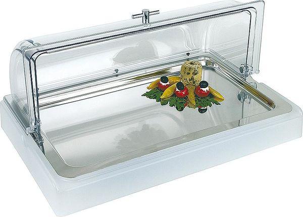 Kühlbox TOP FRESH GN 1/1, 4-teilig ohne Haube, Acryl/ Edelstahl, L: 56,5 x B: 35, H: 6,5 cm