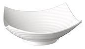 Schale Global Buffet 35 x 35 cm, weiss, uni