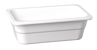 GN-Behälter 53 x 32,5 x 10 cm :GN 1/1, weiss, uni