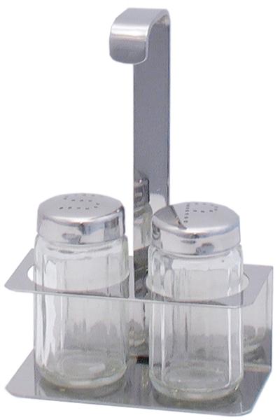 Menage, 2-teilig, L: 10 cm, B: 6,5 cm, H: 15 cm