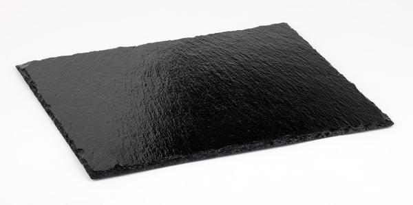 Naturschieferplatte, GN 1/3, 32,5 x 17,5 cm, ca. 4 - 7 mm
