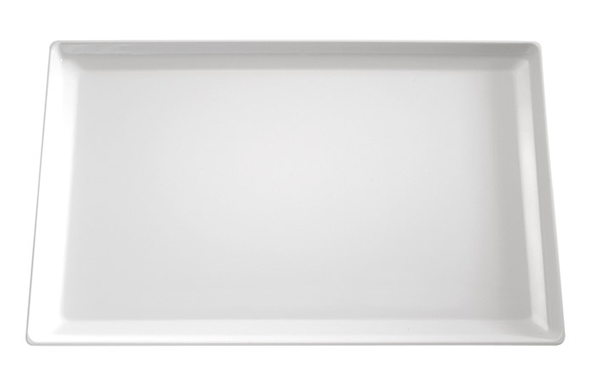 Tablett Float, 53 x 32,5 cm : GN 1/1, weiss, uni