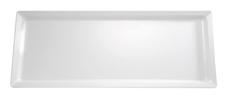 Tablett Pure, 65 x 26,5 cm, rechteckig, weiss, uni