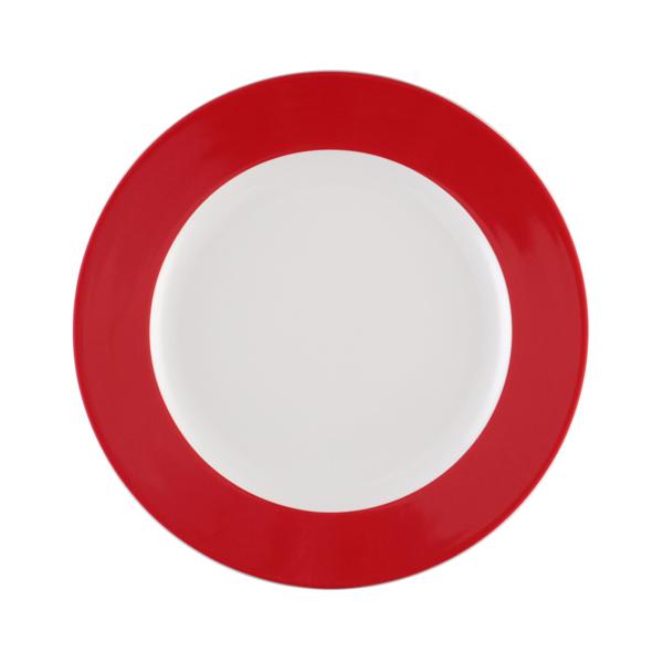 Seltmann Weiden, Meran Springcolors - Teller flach, 23604 rubinrot, 20 cm