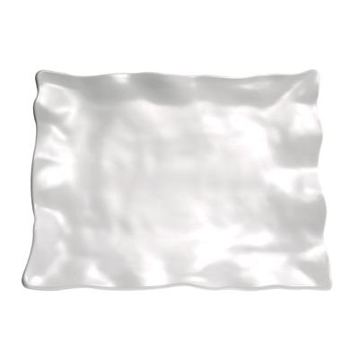 Tablett Global Buffet 44 x 34,5 cm, rechteckig, weiss, uni