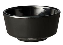 Schale Float, 13 cm, rund, schwarz, uni
