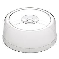 Frischhaltehaube trspt., d= 30 cm/ h= 11,5 cm, Kunststoff, für Tortenplatte Pure 31 cm