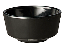 Schale Float, 9 cm, rund, schwarz, uni