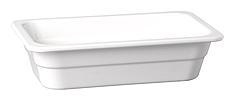 GN-Behälter 35 x 32,5 x 6,5 cm :GN 2/3, weiss, uni