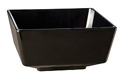 Schale Float, 25,5 x 25,5 cm, quadratisch, schwarz, uni
