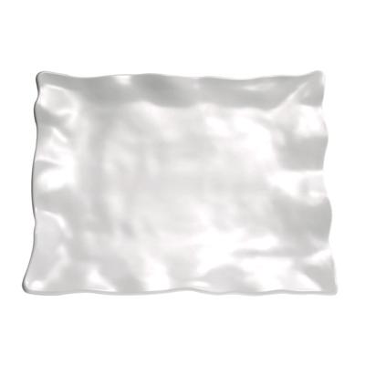 Tablett Global Buffet 38,5 x 29,5 cm, rechteckig, weiss, uni
